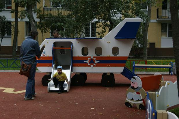 МЧС установило в городе 35 стилизованных детских площадок. Изображение № 4.