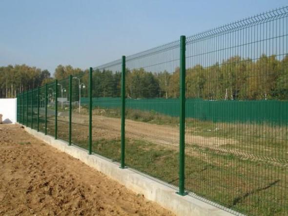Забор из металлических прутьев. Изображение № 5.