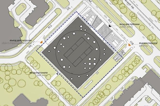 Представлены шесть проектов нового здания Политехнического музея. Изображение № 13.