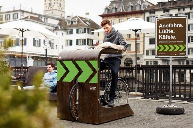 Идеи для города: Велокафе в Цюрихе. Изображение № 4.