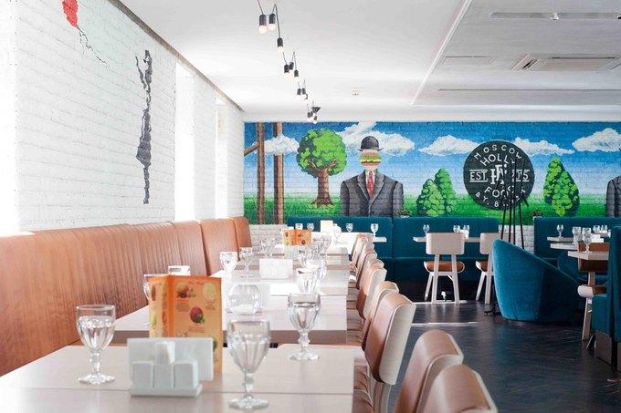 На «Третьяковской» открылось кафе Holly Food by Bryan. Изображение № 1.