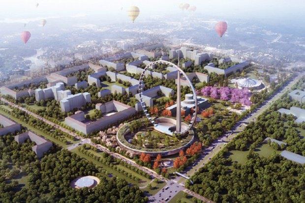 В Москве хотят построить самое большое вмире колесо обозрения. Изображение № 1.
