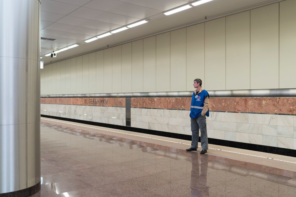 Зонтпэкер изарядка для гаджетов—как устроена станция метро «Котельники». Изображение № 14.