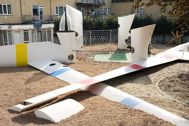 Идеи для города: Детская площадка из крыльев ветряной мельницы вРоттердаме. Изображение № 6.