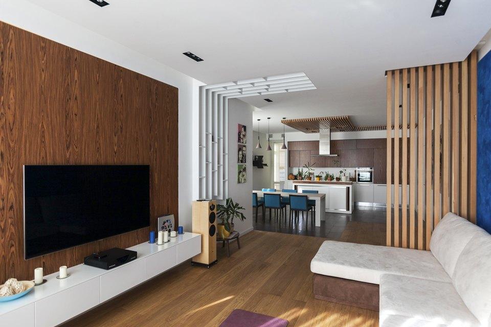 Трёхкомнатная квартира сотделкой изнатуральных материалов . Изображение № 8.