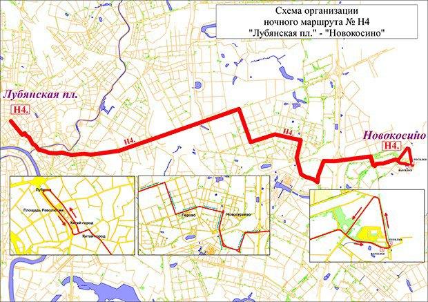 В Москве запускают три новых ночных автобусных маршрута. Изображение № 1.