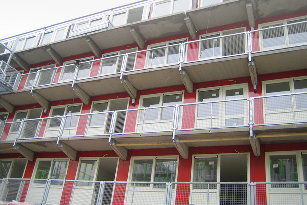 Студенческие общежития из контейнеров в Голландии. Изображение № 7.