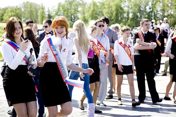 Изображение 51. Фоторепортаж: Последний звонок в Москве.. Изображение № 42.
