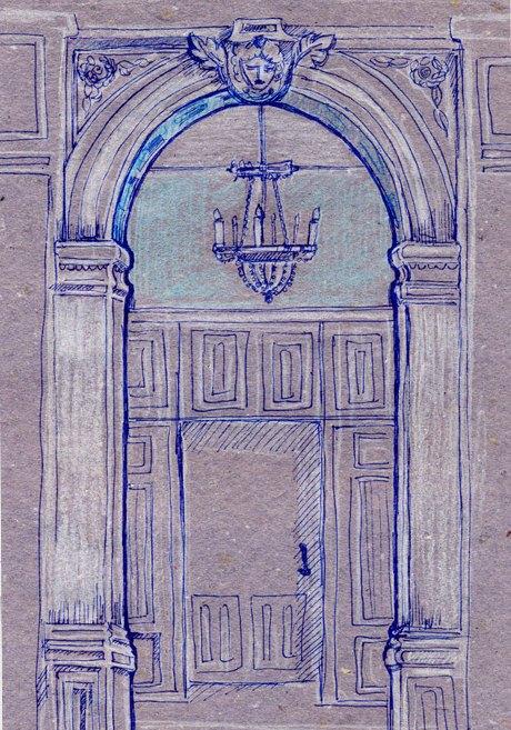 Клуб рисовальщиков: Особняк 1896 года. Изображение № 3.