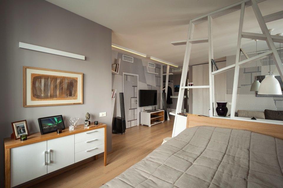 Современная квартира для молодого человека в Петербурге. Изображение № 7.