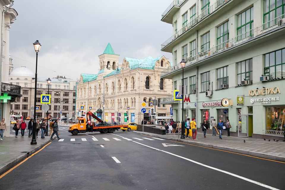 Обновлённые улицы Покровка иМаросейка. Изображение № 2.