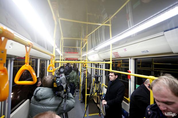 В городе появились первые скоростные трамваи. Изображение № 3.