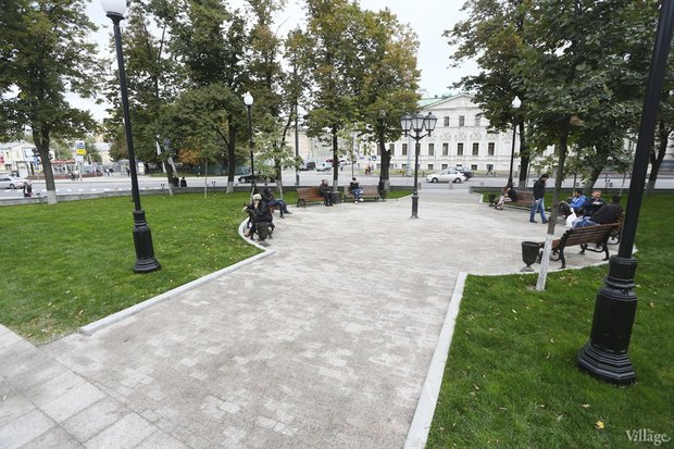Фото дня: Как выглядит обновлённая Арбатская площадь. Изображение № 8.