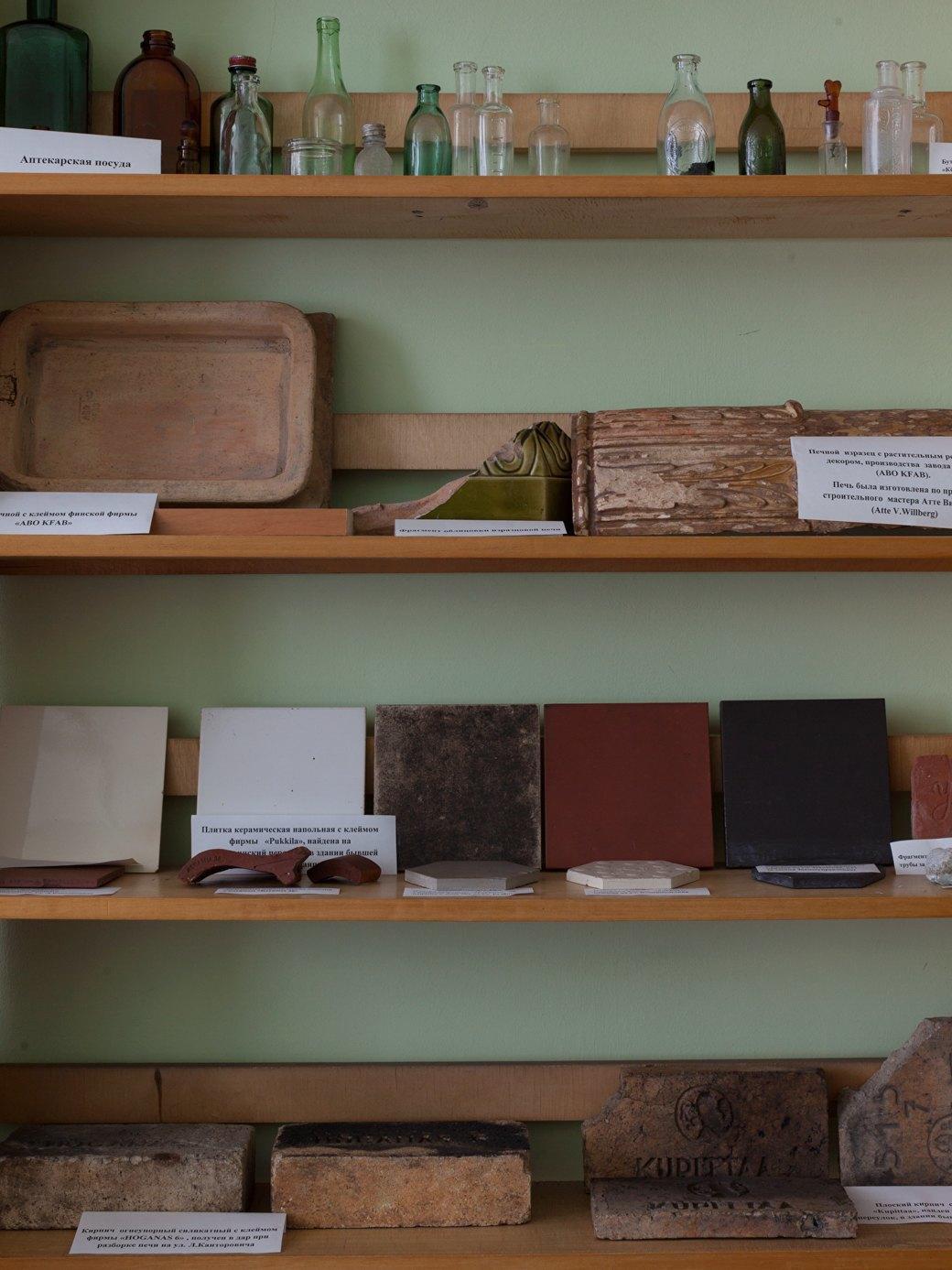 Постоянная экспозиция в недавно открывшемся краеведческом музее Светогорска охватывает период от древности до наших дней. Изображение № 21.