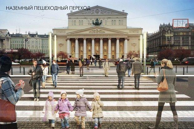 Wowhaus разработали проекты реконструкции московских площадей. Изображение № 2.