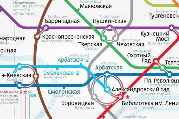 Карты на стол: Голосование за новую схему московского метро. Изображение № 4.