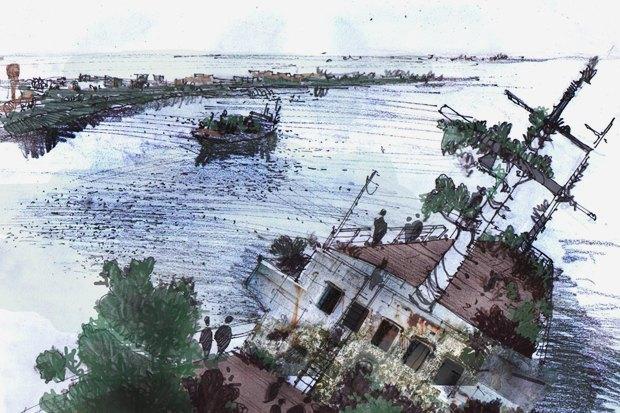 Таинственный остров: Кладбище и плавучие дома на Канонерке. Изображение № 25.