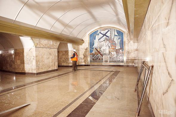 Фоторепортаж: Станция метро «Адмиралтейская» изнутри. Изображение № 3.