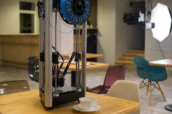 В Москве открылось кафе с 3D-принтерами «3D Plus» . Изображение № 2.