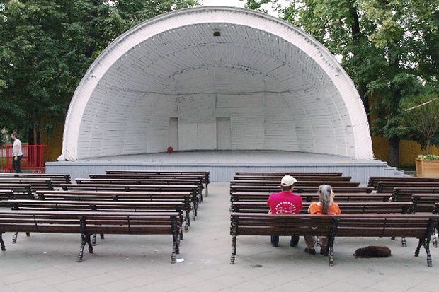 Новости парков: Артхаус в саду Баумана, велопарковки в «Кузьминках» и Wi-Fi почти везде. Изображение № 3.