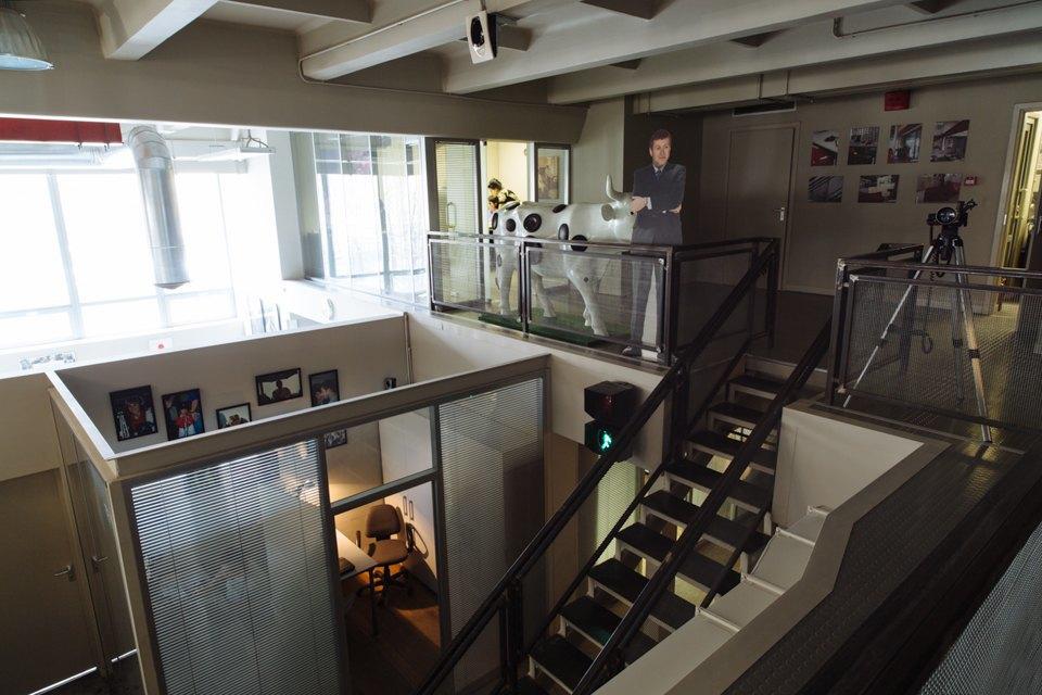 Офис радиостанции «Серебряныйдождь». Изображение № 7.