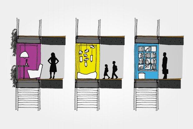 Персонализация пространств с помощью балконов. Изображение № 40.