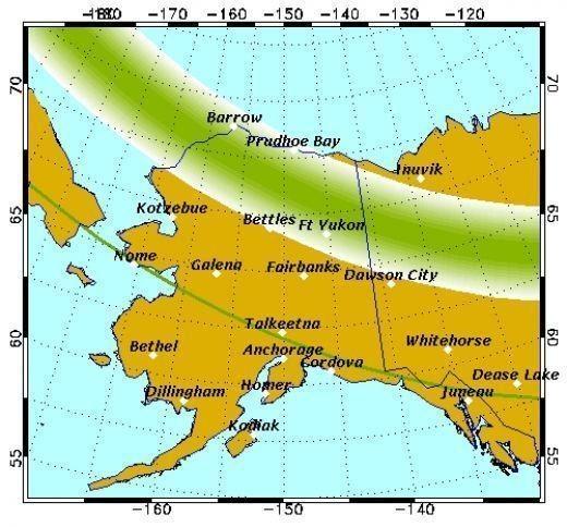 Изображение 2. Солнечный ветер. Несколько мест для любителей наблюдать полярное сияние из своего окошка.. Изображение № 19.