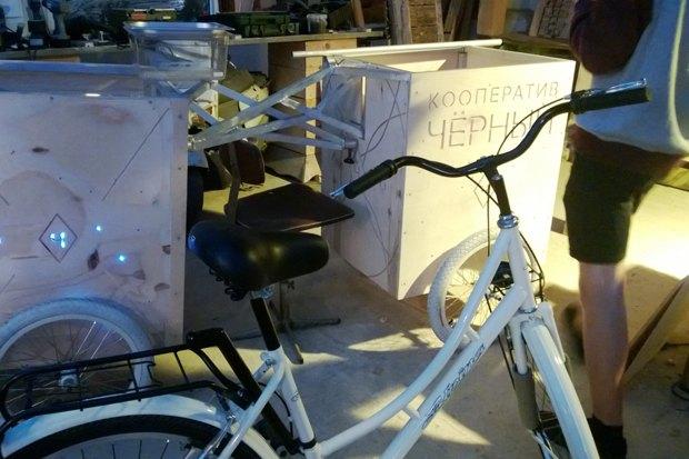 Кооператив «Чёрный» запускает велокофейню. Изображение № 2.