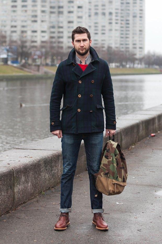 Внешний вид (Петербург): Сергей Исаев, управляющий M10 men's store. Изображение № 1.