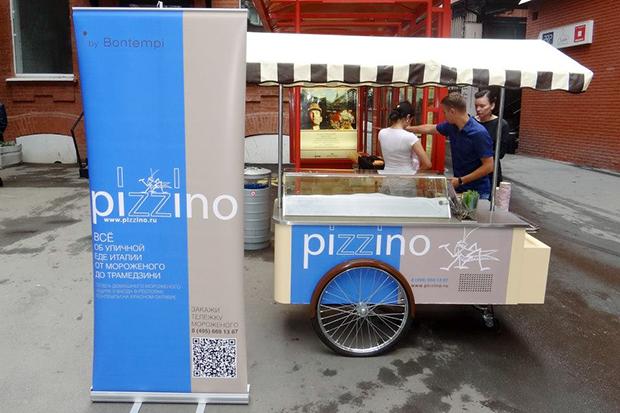Передвижная тележка с мороженым Pizzino . Изображение № 4.