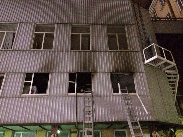 В «Этажах» на Лиговском произошел пожар. Изображение № 3.