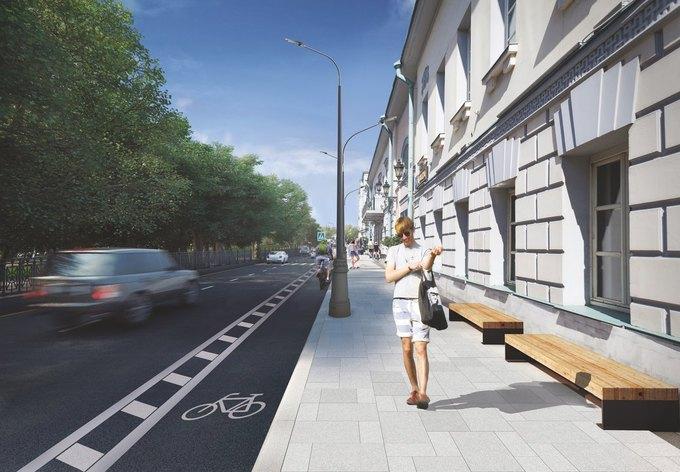 Визуализация проекта реконструкции Тверского бульвара. Изображение № 1.