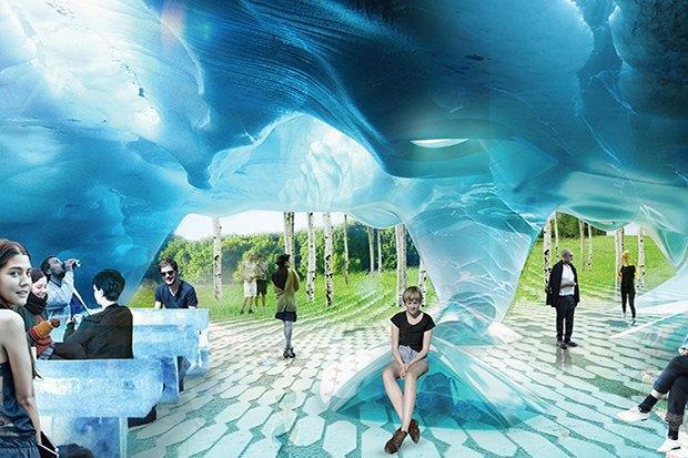 На территории будущего парка «Зарядье» появится интерактивный павильон. Изображение № 8.