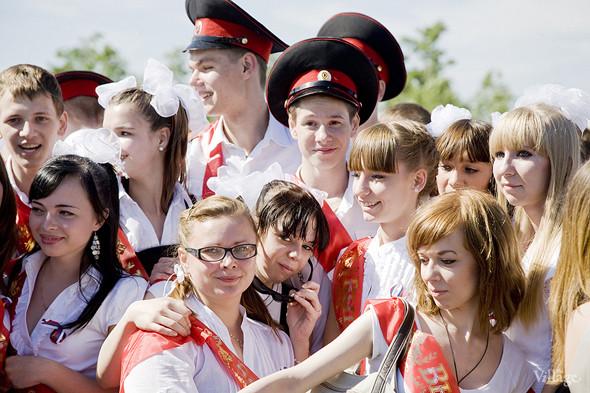 Изображение 61. Фоторепортаж: Последний звонок в Москве.. Изображение № 52.
