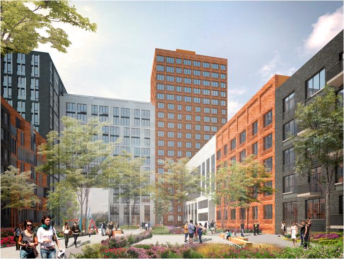 В «Москва-Сити» планируют построить жилой комплекс с причалом имини-пляжем. Изображение № 3.