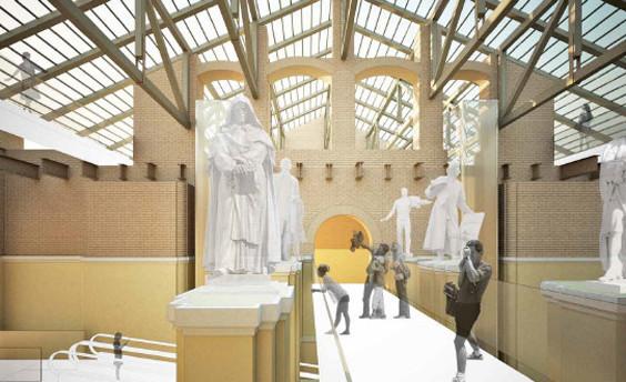 Теория вероятности: 4 проекта реконструкции Политехнического музея. Изображение № 8.