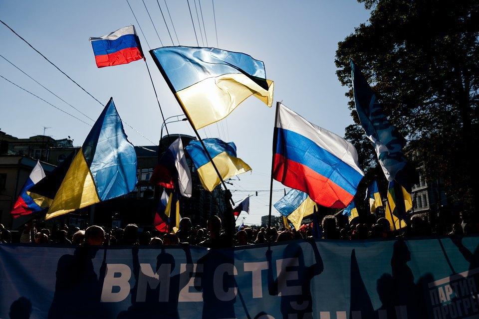 Участники и лозунги «Марша мира». Изображение № 1.