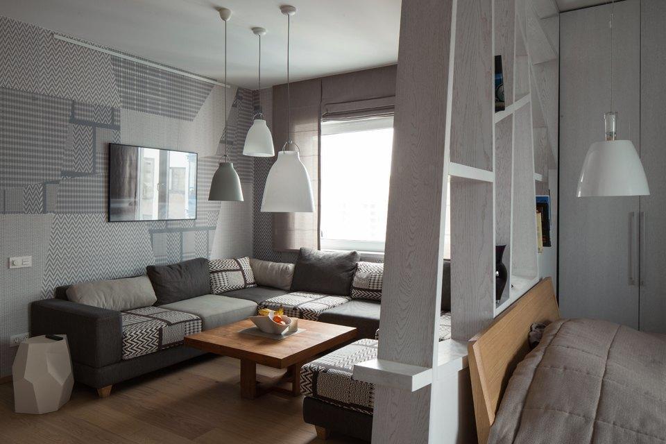 Современная квартира для молодого человека в Петербурге. Изображение № 3.