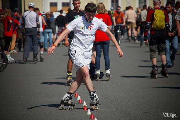 Спорт в городе: Пробег роллеров, велопарад и «Русская пробежка». Изображение № 11.