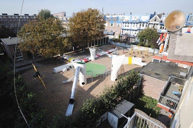 Идеи для города: Детская площадка из крыльев ветряной мельницы вРоттердаме. Изображение № 7.