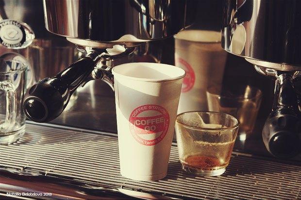 На «Нарвской» открылся киоск Coffee Go. Изображение № 3.