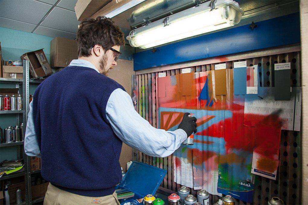 Rush: Производитель краски для граффити, потеснивший западныебренды. Изображение № 9.