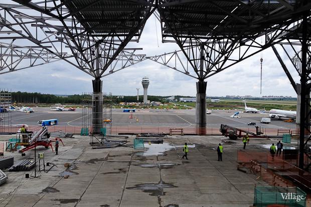 Фоторепортаж: Каким будет новый терминал Пулкова. Изображение № 32.