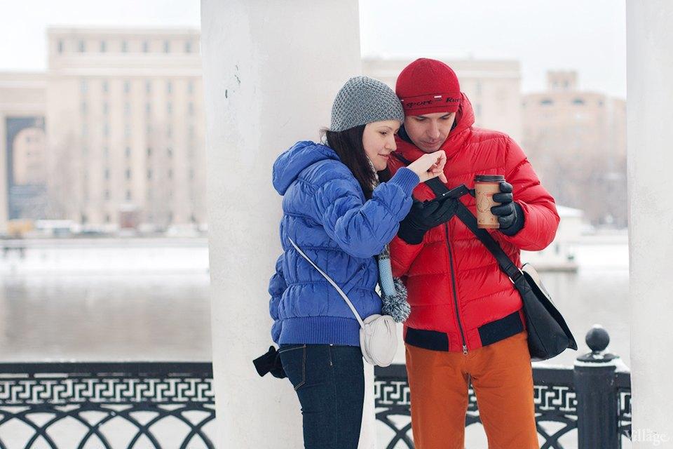 Фоторепортаж: Уличная еда взимней Москве. Изображение № 12.
