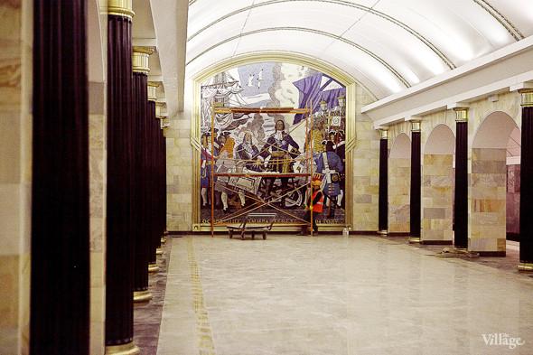 Фоторепортаж: Станция метро «Адмиралтейская» изнутри. Изображение № 15.