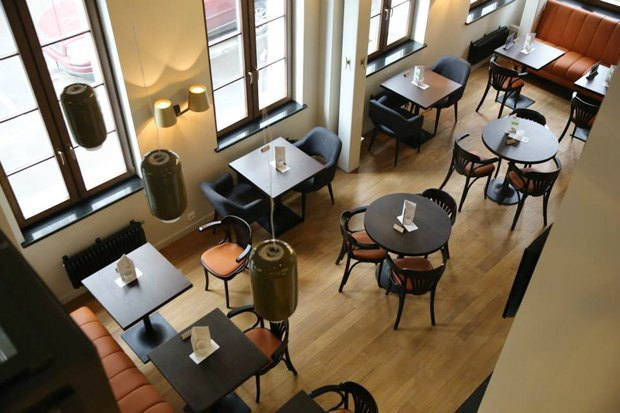 Суши-бар Buba, ресторан «Бабель», пиццерия Zotman Pizza Pie, кафе Ploveberry. Изображение № 4.