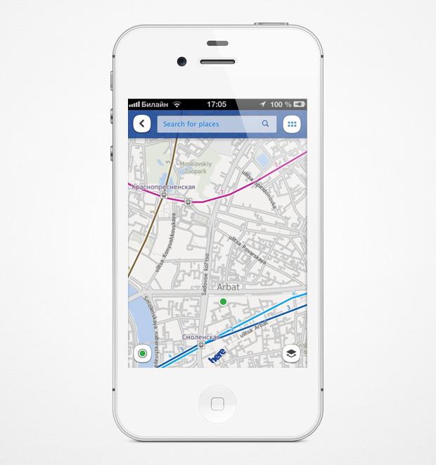 Nokia выпустила приложение с картами для iOS. Изображение № 6.