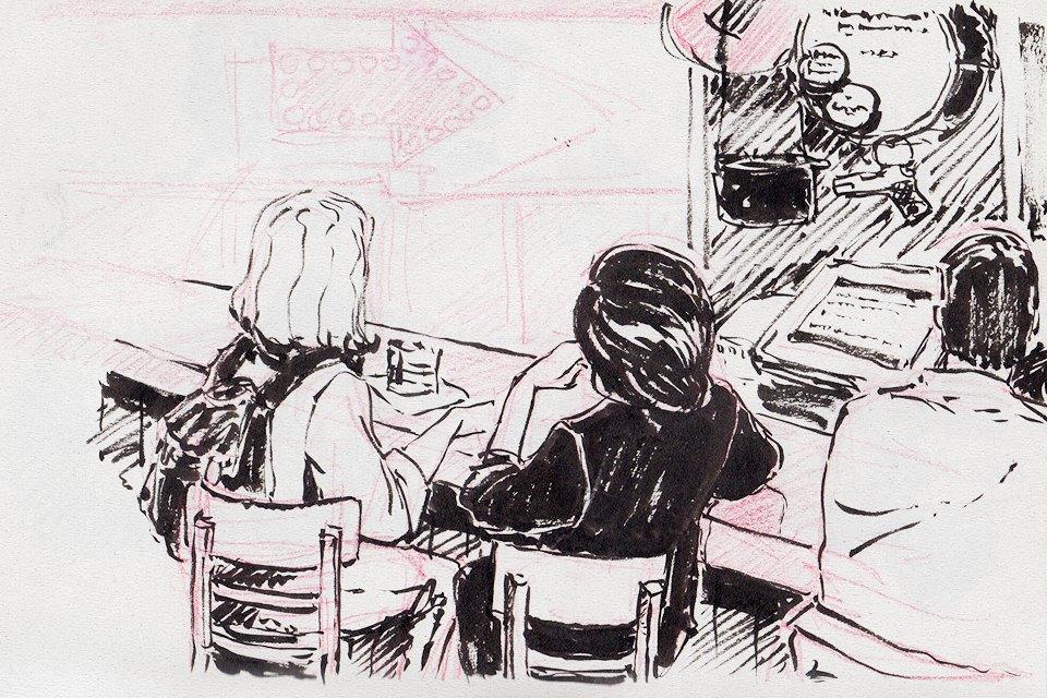 Клуб рисовальщиков: Бар «Куклы пистолеты». Изображение № 6.