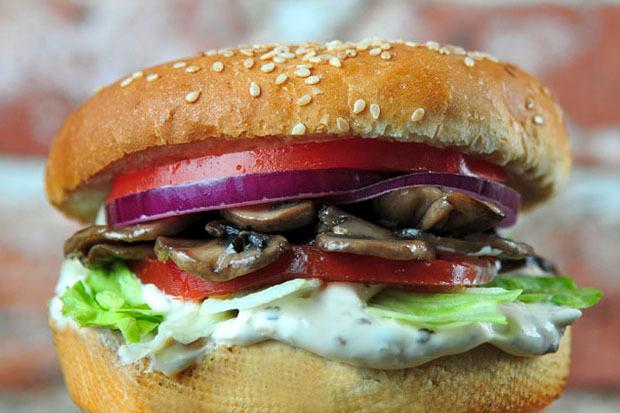 """Вегетарианский """"Канзас сити"""" - 75 рублей. Изображение № 5."""
