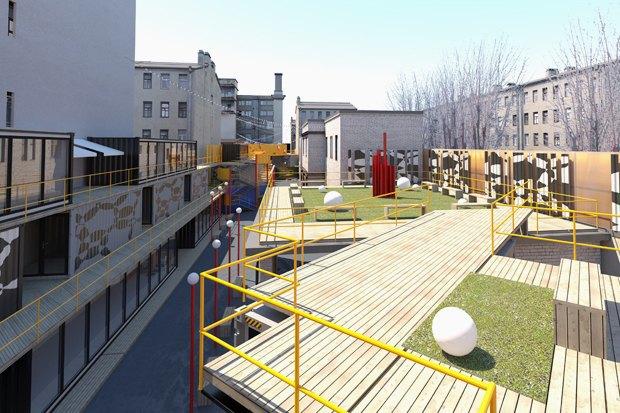 Горизонтальный проект: Коммерческий директор «Лофт Проекта Этажи» — про бизнес-центр изконтейнеров. Изображение № 2.